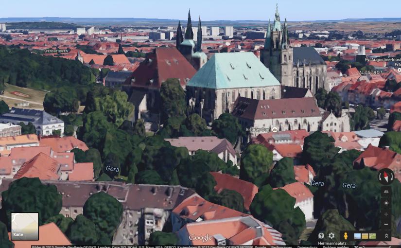 Erfurt in 3D