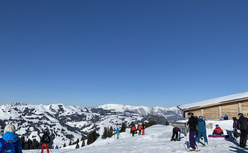 19.01.2019 Ski fahren